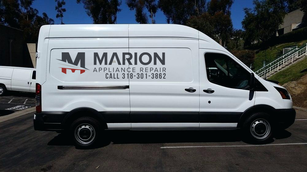 marion appliance repair van
